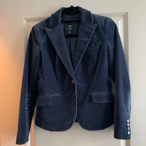 New York & Company velvet jacket size 2